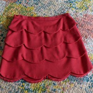 Jack by BB Dakota Skirts - Jack BB Dakota Small zip up pink Barbie skirt